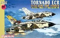ドラゴン1/144 ウォーバーズ (プラキット)トーネード ECR イタリア空軍 DIAVOLI ROSSI & SHARKMOUTH