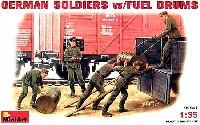 ドイツ兵 w/ドラム缶 セット
