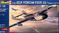 レベル1/32 AircraftD.H. シーベノム FAW.22 / ベノム NF.3