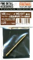 ファインモールド1/35 ファインデティール アクセサリーシリーズ(AFV用)ヘッツァー 中期生産型用 7.5cm砲 砲身