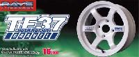 アオシマ1/24 Sパーツ タイヤ&ホイールボルクレーシング TE37 グラベル (16インチ)