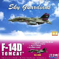 ウイッティ・ウイングス1/72 スカイ ガーディアン シリーズ (現用機)F-14D トムキャット VX-9 エヴァリュエーターズ 2003