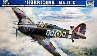 トランペッター1/24 エアクラフトシリーズハリケーン Mk.2c