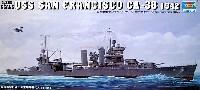 トランペッター1/350 艦船シリーズUSS サンフランシスコ CA-38 1942
