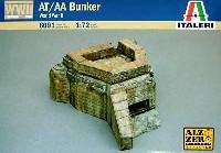 イタレリ1/72 ミリタリーシリーズAT/AA ブンカー