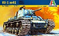 イタレリ1/72 ミリタリーシリーズKV-1 1941年型