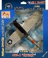 イージーモデル1/72 エアキット(塗装済完成品)F4U-4 コルセア USN カンザス 1956
