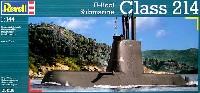 レベル1/144 艦船モデルU214型 ハイブリット潜水艦 (輸出型)