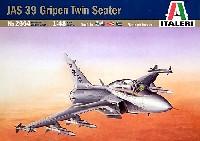 イタレリ1/48 飛行機シリーズサーブ JAS 39B グリペン複座型