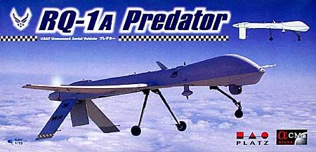 RQ-1A 無人偵察機 プレデタープラモデル(プラッツ1/72 プラスチックモデルキットNo.AC-001)商品画像