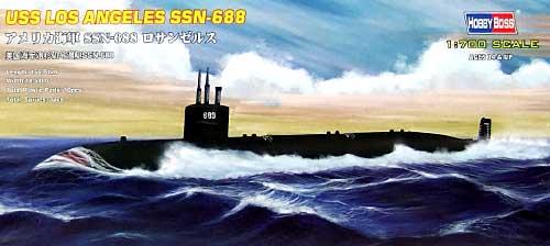 アメリカ海軍 SSN-688 ロサンゼルスプラモデル(ホビーボス1/700 潜水艦モデルNo.87014)商品画像