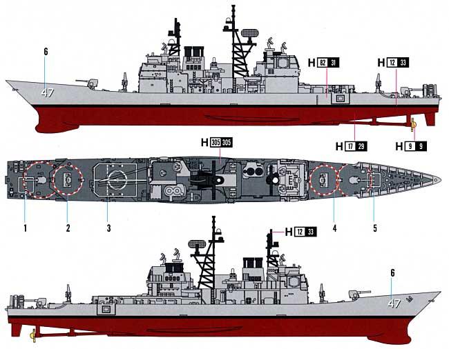 USS タイコンデロガ CG-47 ホビ...