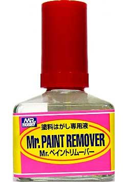 Mr.ペイントリムーバー (塗料はがし専用液)溶剤(GSIクレオスMr.カラー シンナーNo.T-114)商品画像
