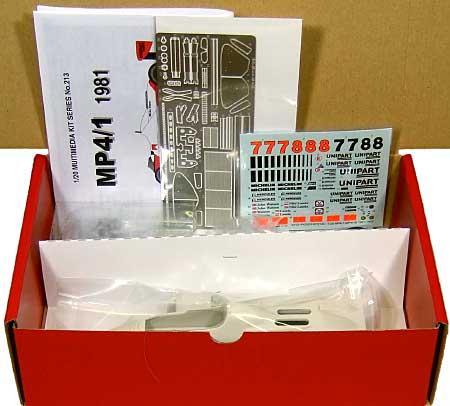 マクラーレン MP4/1 1981レジン(スタジオ27F-1 オリジナルキット (スタンダードシリーズ)No.FK20213C)商品画像