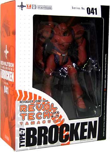 ブロッケン 初期OVA版フィギュア(オーガニックリボルテック(REVOLTECH)No.041SP)商品画像