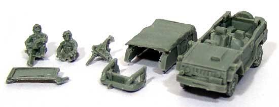 自衛隊 73式小型トラック パジェロレジン(紙でコロコロ1/144 ミニミニタリーフィギュアNo.069)商品画像_1
