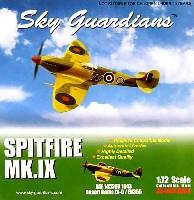 ウイッティ・ウイングス1/72 スカイ ガーディアン シリーズ (レシプロ機)スピットファイヤ Mk9 RAF 145SQ 1943年 砂漠迷彩 ZX-0/EN355
