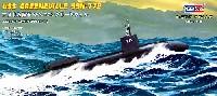 ホビーボス1/700 潜水艦モデルアメリカ海軍 SSN-772 グリーンヴィル