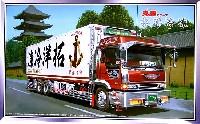 アオシマ1/32 大型デコトラ丸美グループ 拓洋冷凍 (ロングシャーシ保冷車)