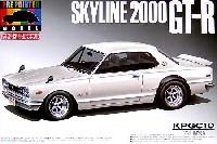 アオシマ1/24 プリペイントモデル シリーズハコスカ HT 2000 GT-R KPGC10 (ホワイト)