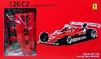 フジミ1/20 GPシリーズフェラーリ 126C2 ロングビーチ