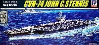 ピットロード1/700 スカイウェーブ M シリーズアメリカ海軍 ニミッツ級航空母艦 CVN-74 ステニス エッチングパーツ付
