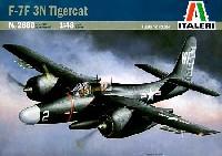イタレリ1/48 飛行機シリーズグラマン F-7F 3N タイガーキャット