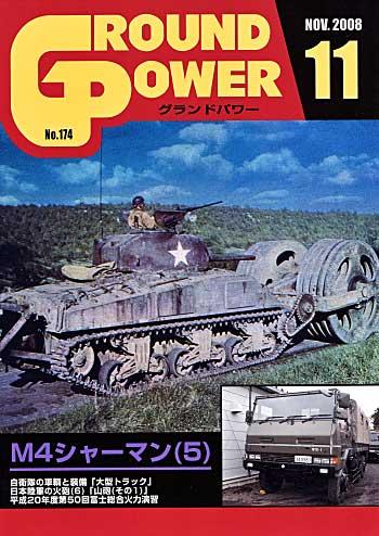 グランドパワー 2008年11月号雑誌(ガリレオ出版月刊 グランドパワーNo.174)商品画像