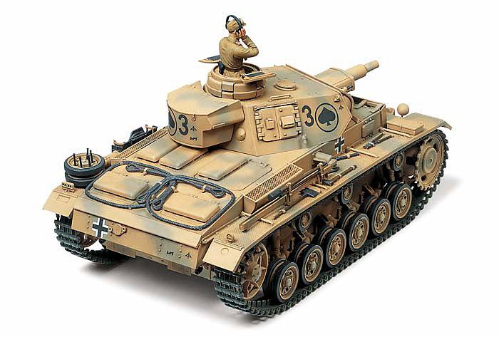 ドイツ 3号戦車 N型プラモデル(タミヤ1/35 ミリタリーミニチュアシリーズNo.290)商品画像_2