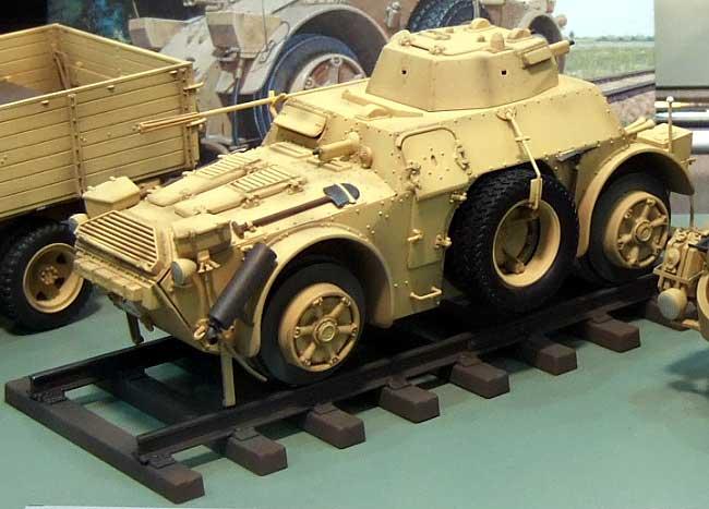 アウトブリンダ AB40 装甲軌道車プラモデル(イタレリ1/35 ミリタリーシリーズNo.6456)商品画像_1