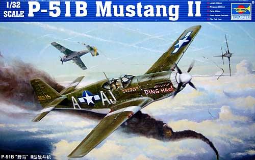P-51B マスタングプラモデル(トランペッター1/32 エアクラフトシリーズNo.02274)商品画像