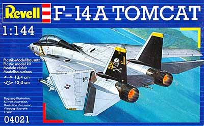 F-14A トムキャット ジョリーロジャースプラモデル(レベル1/144 飛行機No.04021)商品画像