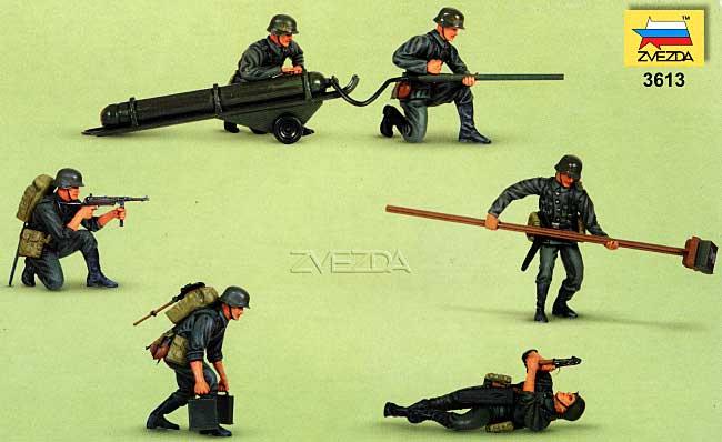 ドイツ 戦闘工兵 フィギュアセット (6体入)プラモデル(ズベズダ1/35 ミリタリーNo.3613)商品画像_1