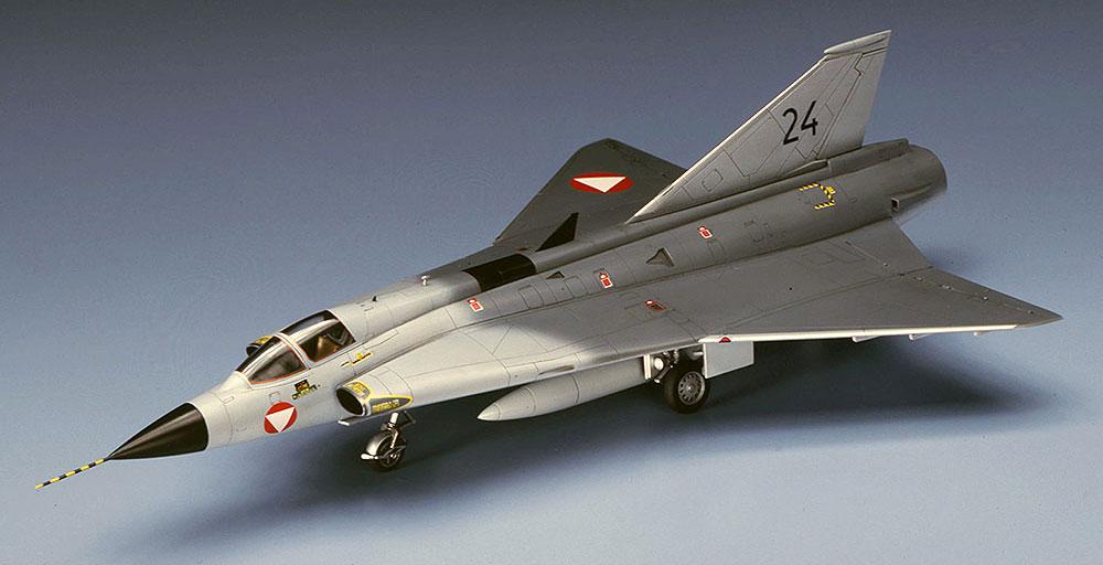 J-35O ドラケン オーストリア空軍プラモデル(ハセガワ1/72 飛行機 BPシリーズNo.BP02)商品画像_3