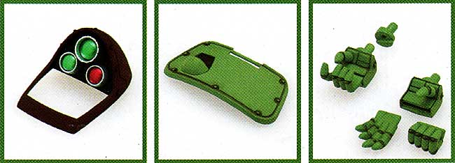 スタンディングタートル用 アップデートパーツセットプラモデル(ウェーブ装甲騎兵ボトムズNo.BK-097)商品画像_1