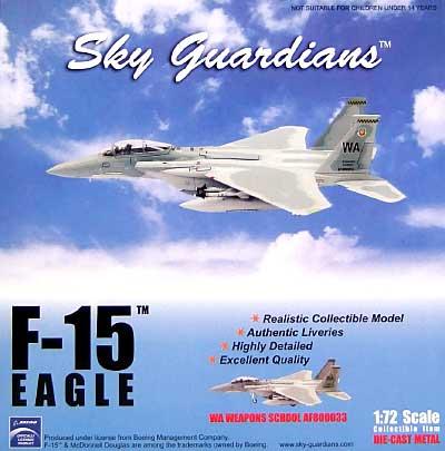 F-15 イーグル WA ウェポンスクール AF800033完成品(ウイッティ・ウイングス1/72 スカイ ガーディアン シリーズ (現用機)No.74485)商品画像