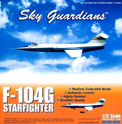 F-104G スターファイター NASA 812完成品(ウイッティ・ウイングス1/72 スカイ ガーディアン シリーズ (現用機)No.74306)商品画像