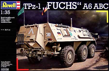 TPz-1 フックス A6 ABCプラモデル(レベル1/35 ミリタリーNo.03038)商品画像