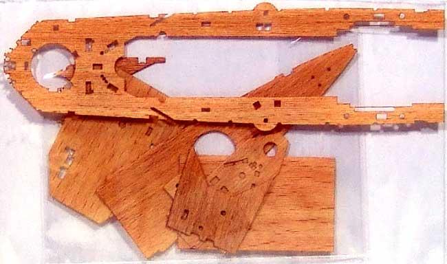 巡洋戦艦 レパルス用 木製甲板セット (1/700スケール)甲板シート(新撰組マイスタークロニクル パーツNo.MCP010)商品画像_1