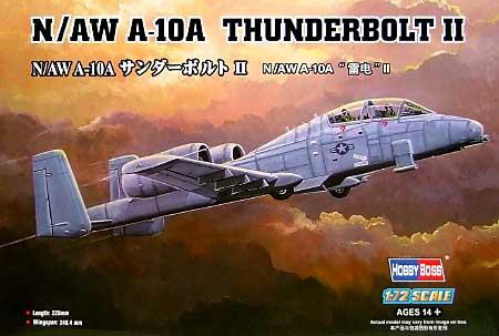 N/AW A-10 サンダーボルト2プラモデル(ホビーボス1/72 エアクラフト プラモデルNo.80267)商品画像