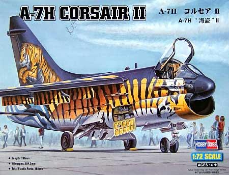 A-7H コルセア 2プラモデル(ホビーボス1/72 エアクラフト プラモデルNo.87206)商品画像