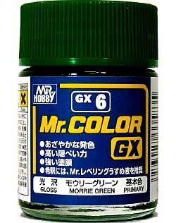 モウリーグリーン (光沢)塗料(GSIクレオスMr.カラー GXNo.GX-006)商品画像