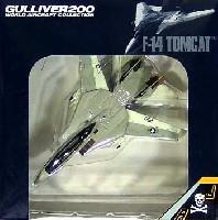 ワールド・エアクラフト・コレクション1/200スケール ダイキャストモデルシリーズF-14A トムキャット VF-84 ジョリーロジャース AJ200 1978年