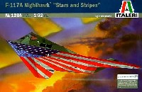 イタレリ1/72 航空機シリーズロッキード F-117A ナイトホーク 星条旗