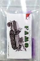 マツオカステン1/144 オリジナルレジンキャストキット (AFV)Sd.Kfz.9 ファモ クレーンタイプ