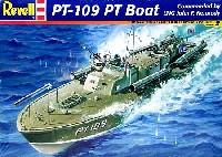 レベル1/72 艦船モデルPT-109 PT ボート 魚雷艇 (J.F.ケネディ艇長)