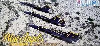 フジミAIR CRAFT (シリーズF)F/A-18 ホーネット ブルーエンジェルス 2006