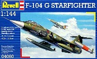 レベル1/144 飛行機F-104G スターファイター