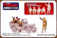 ジープ乗車占領軍兵士 1945 ベルリン (5体)