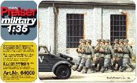 行進するドイツ歩兵